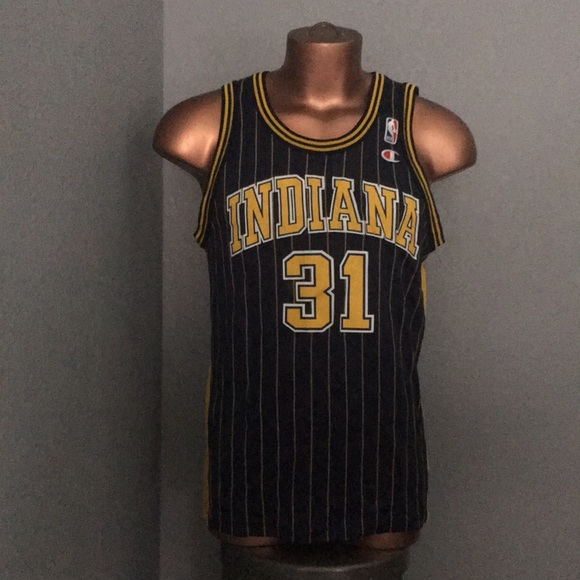 Champion Other - Vintage Indiana Pacers Reggie Miller Jersey 5b6a7d3fd